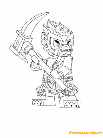 Lego Chima Coloring Page - Free Coloring Pages Online