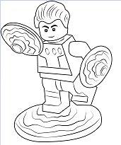 Lego Cosmic Boy