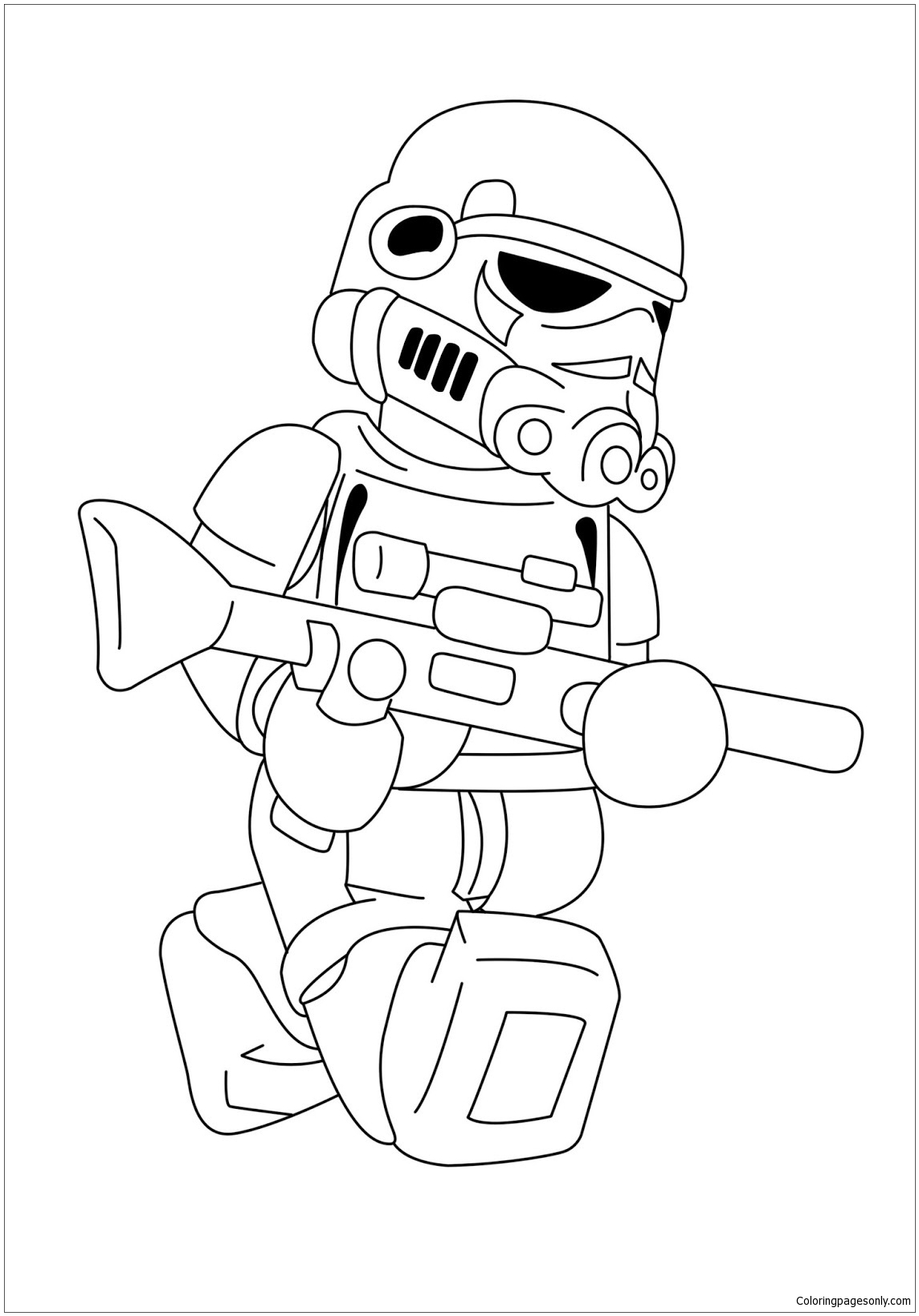- Lego Darth Vader 1 Coloring Page - Free Coloring Pages Online
