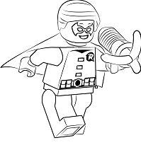 Lego Dick Grayson aka Robin Jr