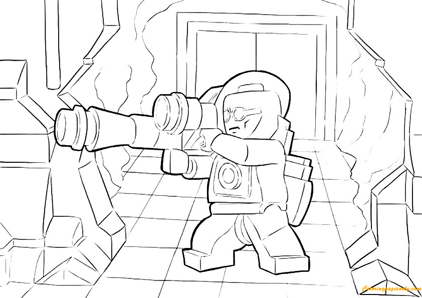 Lego Green Lantern Coloring Pages - Toys and Dolls ...