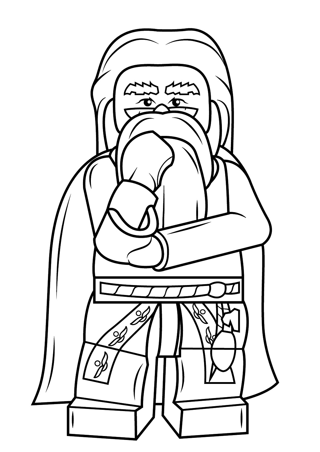 Lego Star Wars Clone Decorating Christmas Coloring Page ...