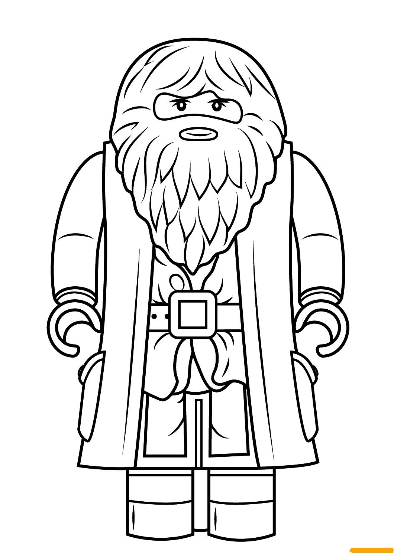 Lego Harry Potter Rubeus Hagrid