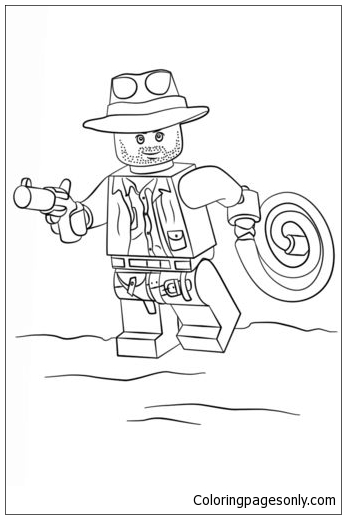 Lego Indiana Jones Coloring Page Free Coloring Pages Online