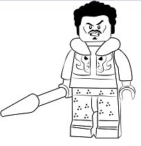 Lego Emmet Coloring Page - Free Coloring Pages Online