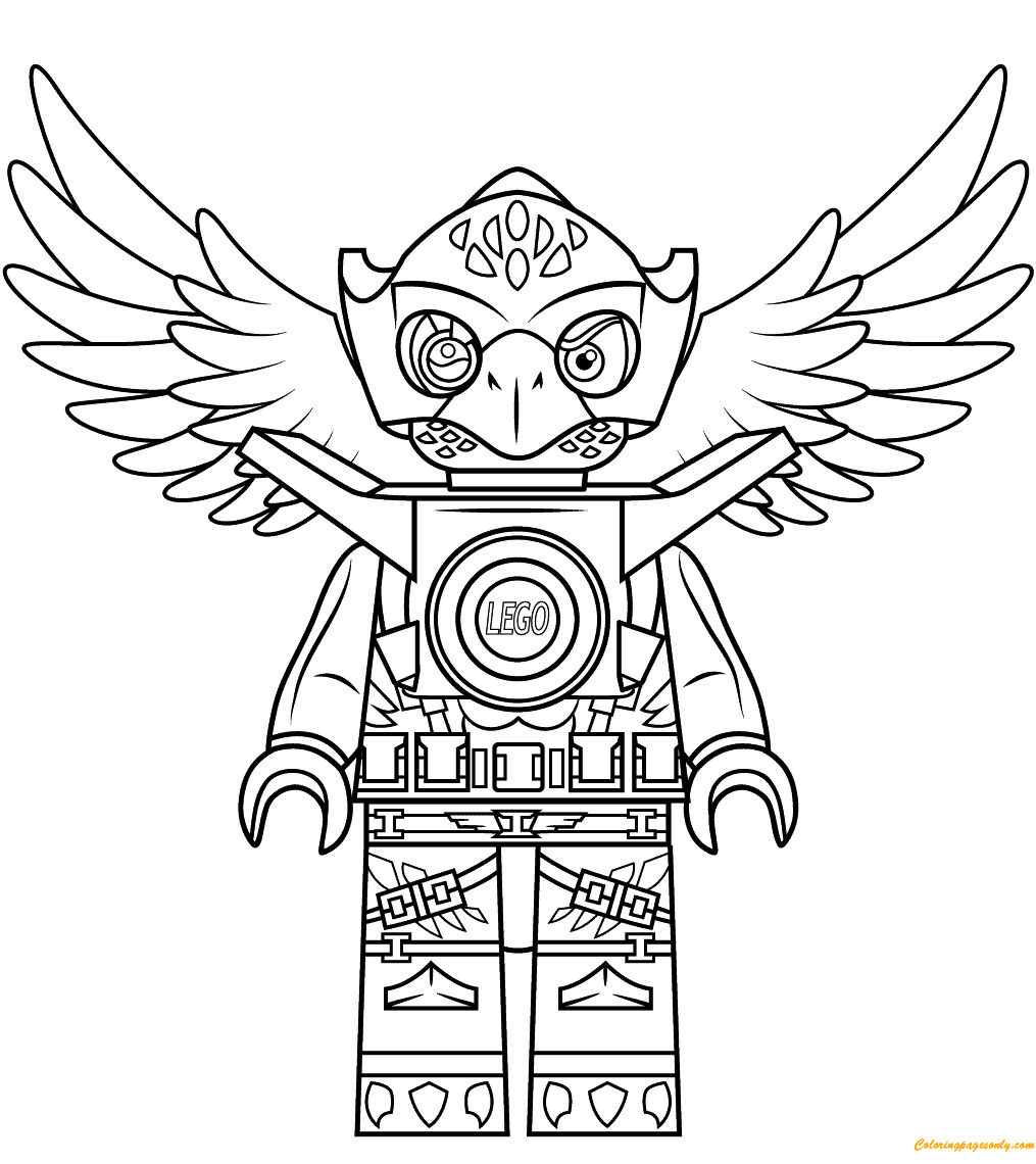 Lego Legends of Chima Eris Coloring Page - Free Coloring ...