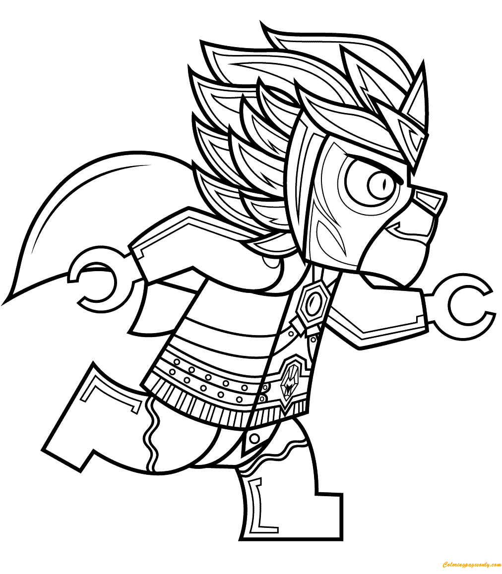 legends of chima coloring pages - lego legends of chima laval coloring page free coloring