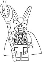 The Flash Characters Lego Coloring Page - Free Coloring ...
