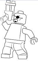 Lego Nick Fury