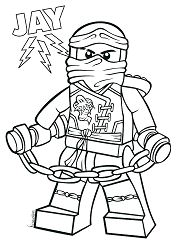 Lego Ninjago 1 Coloring Page