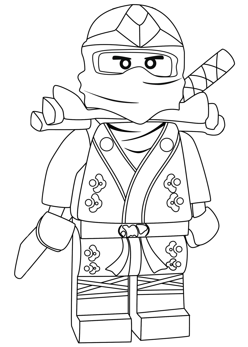 Lego Cyborg Coloring Page Free Coloring Pages Online