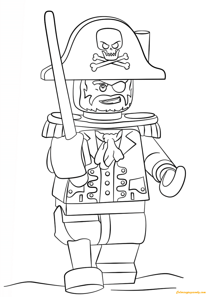 Get This Pirate Coloring Pages Free Printable for Kids at28c ! | 1186x824