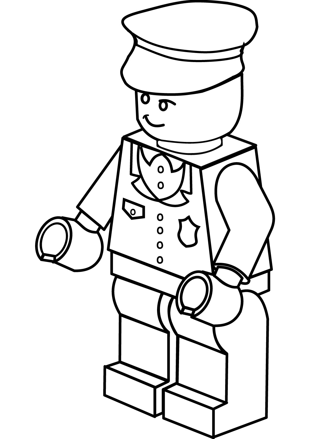 Coloring Pages For Kids And Adults: Free Printable Lego Coloring ...