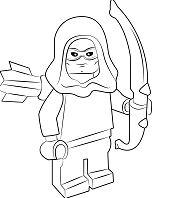 Lego Roy Harper