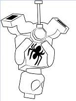 Lego Scarlet Spider