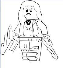 Lego Scarlet Witch