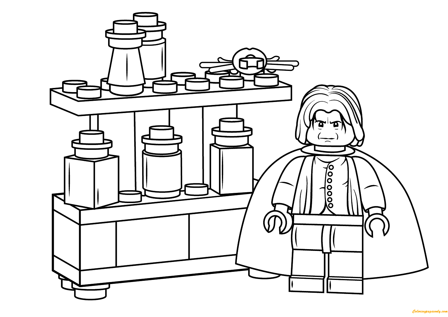 Lego Severus Snape Harry Potter