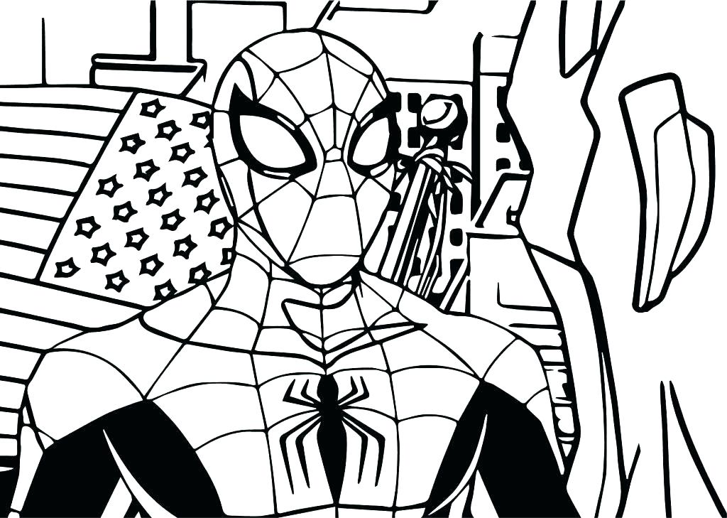 Lego Spiderman 2 Coloring Page - Free Coloring Pages Online