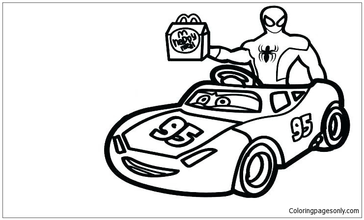 Spider Man 3 Coloring Pages - Coloring Home | 449x741