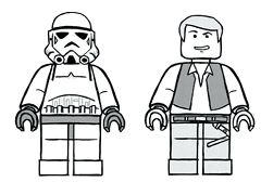 Lego Star Wars 12 Coloring Page