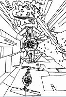 Lego Star Wars 4 Coloring Page