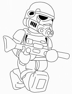 Lego Star Wars 6 Coloring Page