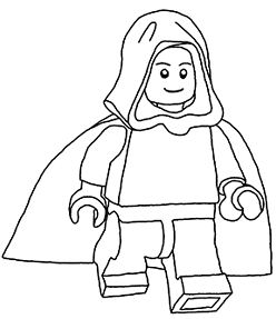 Lego Star Wars 8 Coloring Page