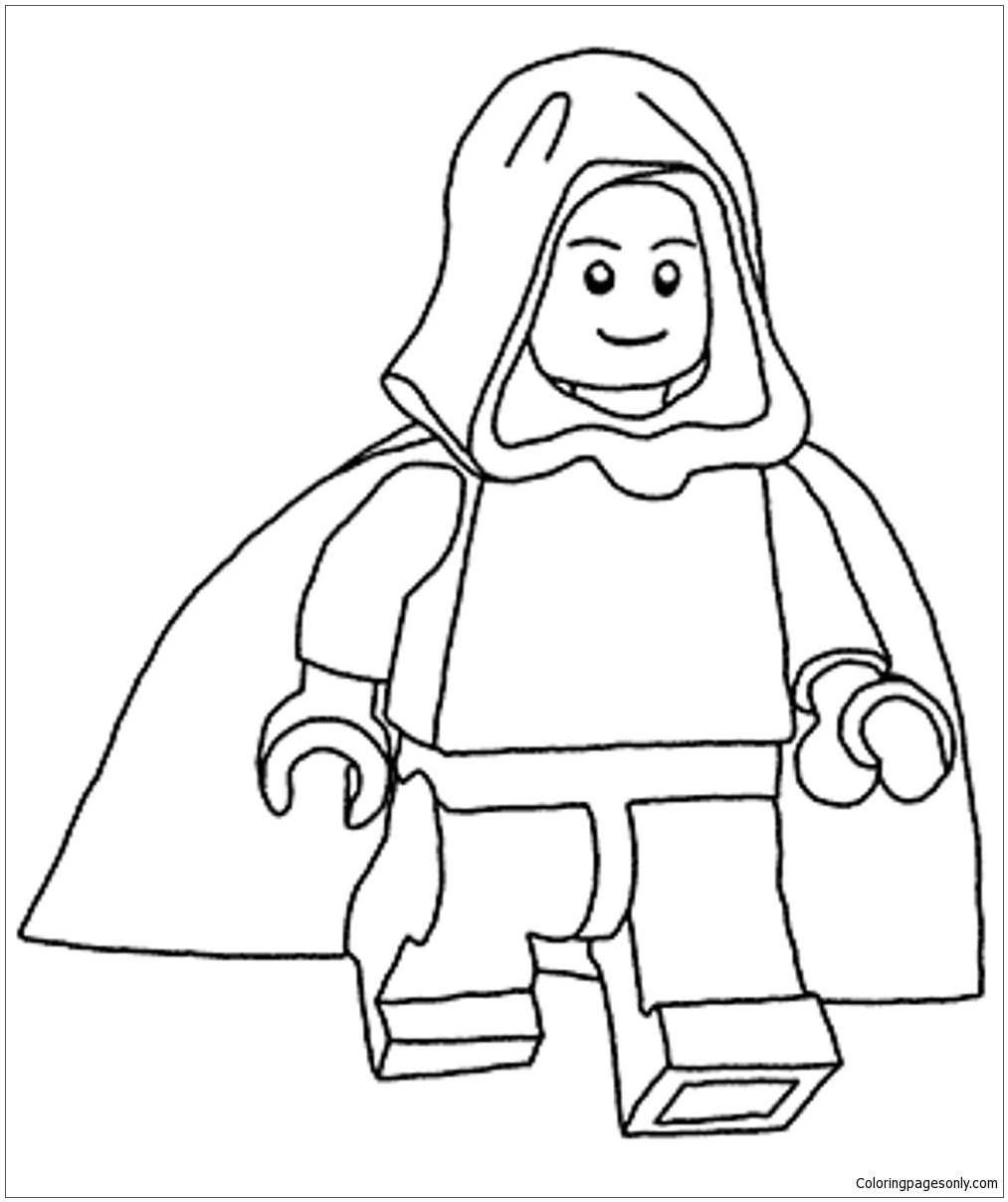 Lego Star Wars 12 Coloring Page - Free Coloring Pages Online | 1208x1013