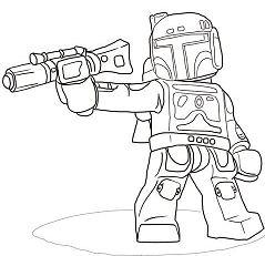 Lego Star Wars Boba Fett