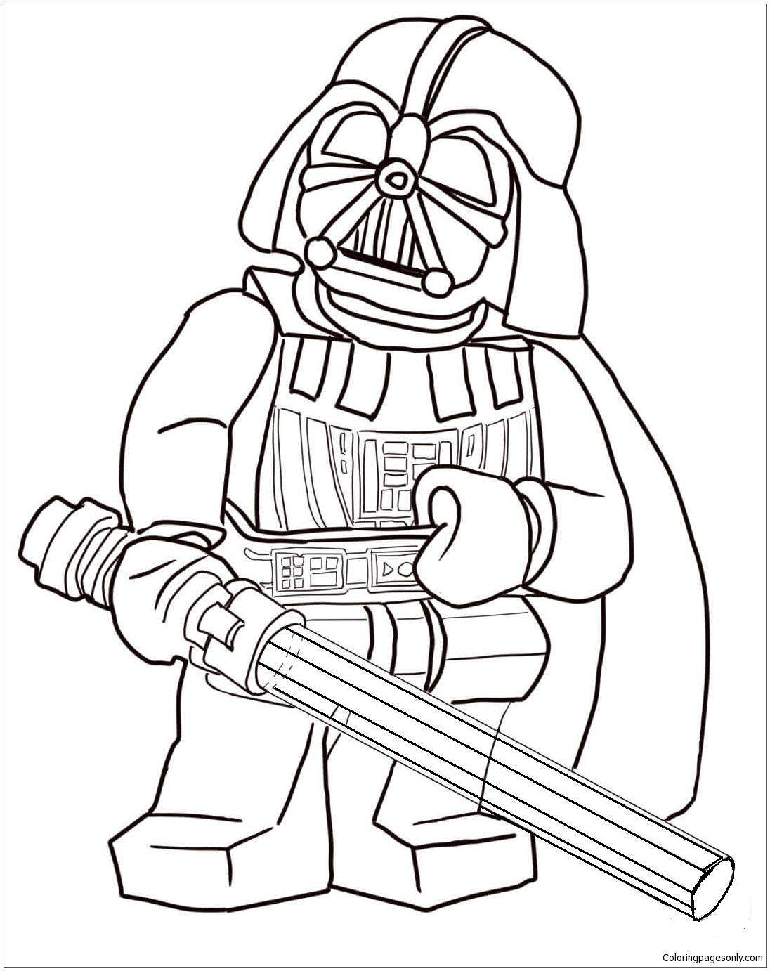 - Lego Star Wars Darth Vader Coloring Page - Free Coloring Pages Online