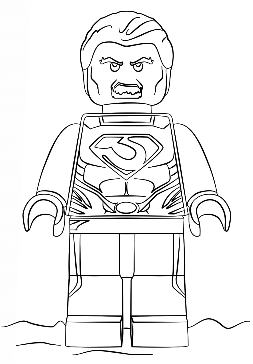 Lego Super Heroes Man of Steel