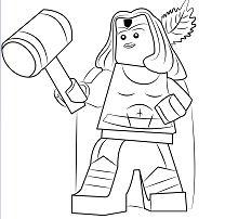 Lego Thor Girl