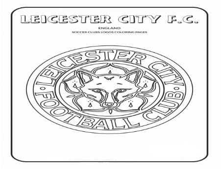 Leicester City F.C. Coloring Page