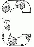 Letter C - image 2 Coloring Page