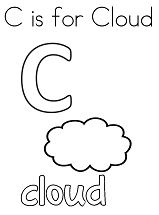 Letter C is for Cloud