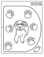 Letter D for Dog