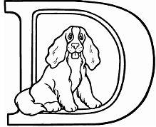 Letter D is for dog
