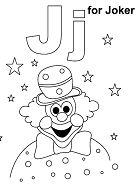 Letter J for Joker