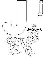 Letter J is for Jaguar