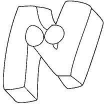 Letter N - image 1