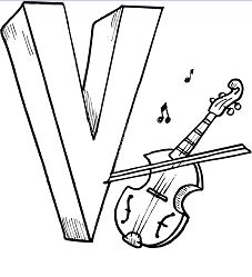 Letter N is for Violon