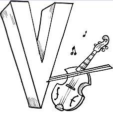 Letter N is for Violon