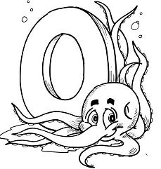 Letter O Is For Octopus