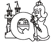 Letter Q Is For Queen