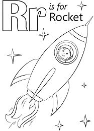 Letter R is for Rocket