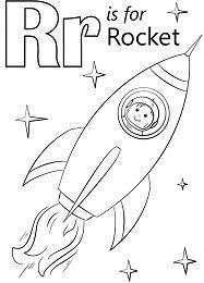 Letter R is for Rocket