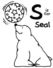 Letter S is for Seal