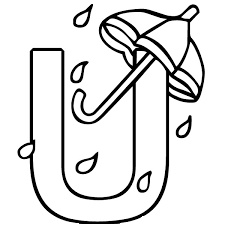 Letter U Is For Umbrellas