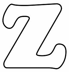 Letter Z - image 1 Coloring Page