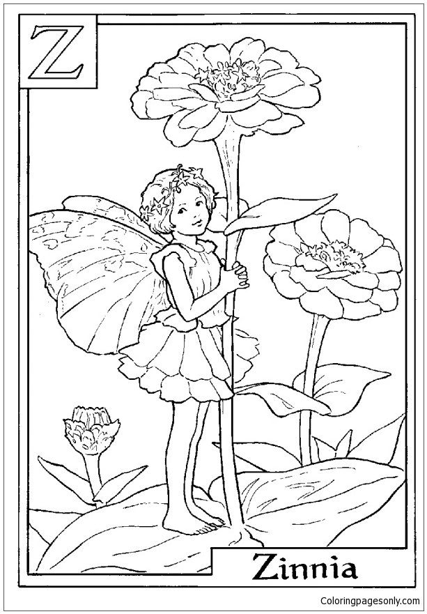 Two Fairies coloring page | Free Printable Coloring Pages | 881x613